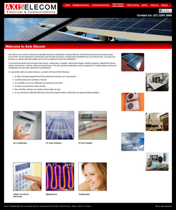 Axis Elecom website