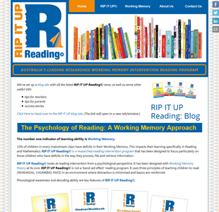 RIPITUP Reading website