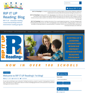 RIPITUP Reading blog