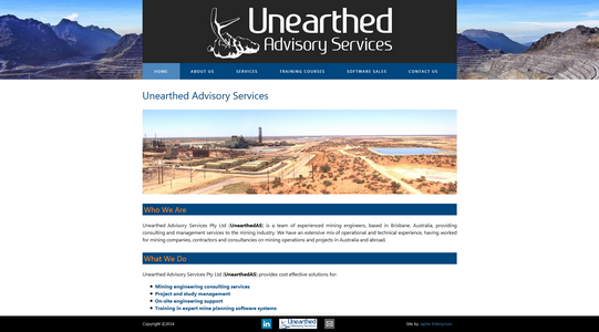 UnearthedAS website