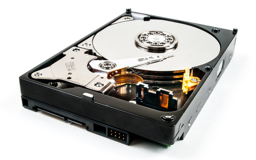 How much time until an unused hard drive loses its data?